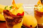 バナナとマンゴーが主役の夏らしいスイーツをペルシュ新作メニューでお届けします!