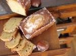 マロンのパウンドケーキとシュトーレン。アップルパイで秋の季節限定焼き菓子を楽しんでください