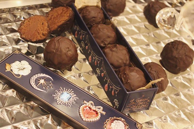 パティスリーが作る、本格トリュフチョコレート