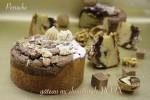 信州くるみとイタリアンドルチェのジャンドゥーヤを組み合わせた新しいガトーショコラの完成です