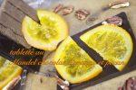 国産柑橘を自家製オレンジトランシュに仕上げたチョコレートマンディアンと伊予柑のタルト