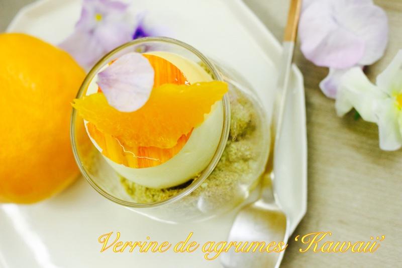 セミノール、タンゴール、国産柑橘が美味しい季節のヴェリーヌの完成です