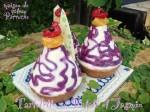 紫芋とジャスミンティー、オリエンタルな装いのタルトの完成です