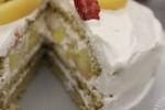 桃と紅茶のショートケーキの作り方動画が完成しました