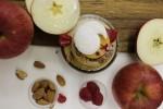 紅玉りんごとキャラメルのクレームブリュレ
