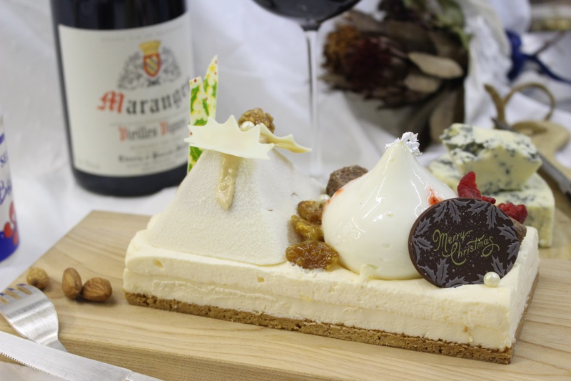 2019年のペルシュクリスマスチーズケーキを新作でご案内します
