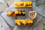 二重発酵チョコレートの奥深さをマンゴーとパッションフルーツで引き出す試み