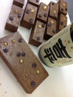 和の食材とチョコレートをひとつにまとめたガトーショコラ!
