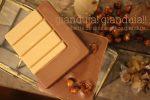自社焙煎ヘーゼルナッツペーストで作るジャンドゥーヤタブレット