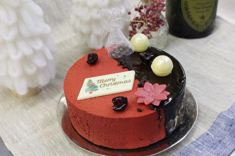 ペルシュの2020年新作クリスマスケーキ ルージュ&ノワールを紹介します!