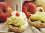 キャラメルと早生りんごでフレッシュなアップルパイを焼き上げますよ