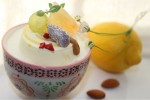 アーモンドミルクとレモンの新作ケーキ